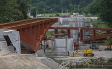 Diferencias entre las empresas frenan la obra del nuevo puente de Golbardo