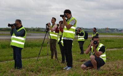 Fotografía y aviones, dos aficiones unidas en el Seve Ballesteros