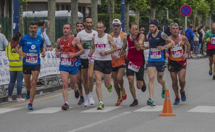 Imágenes de la Media y la Maratón de Laredo