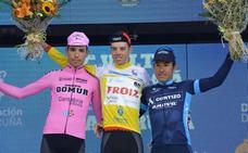 Sergio Vega se lleva el triunfo final en la Vuelta a La Coruña