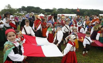 La bandera regional no ha podido ondear en el Día Infantil de Cantabria