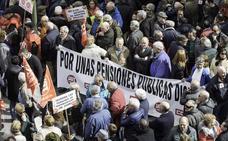Nueve concentraciones y una manifestación para defender las pensiones en Cantabria