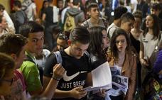 2.605 estudiantes se enfrentarán a la Selectividad, la cifra más alta del siglo