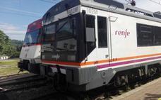 Restablecido el tráfico ferroviario entre Bárcena y Pesquera