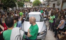 Los profesores se manifiestan en Santander en contra de ampliar la jornada reducida