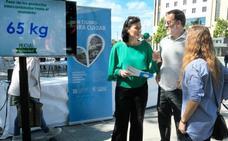 Santander reivindica consumo responsable con el I Mercado de Intercambio