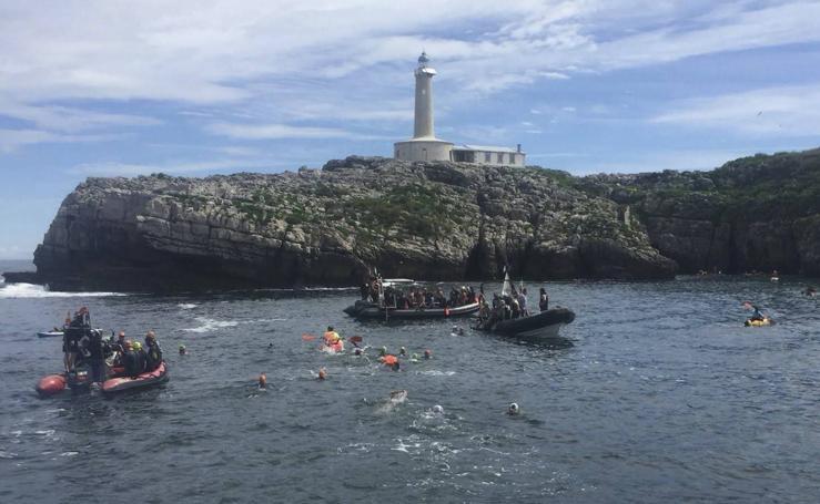 Santander abraza la Isla de Mouro