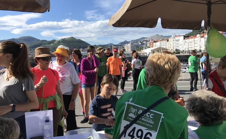 IV Marcha contra el cáncer en Castro Urdiales
