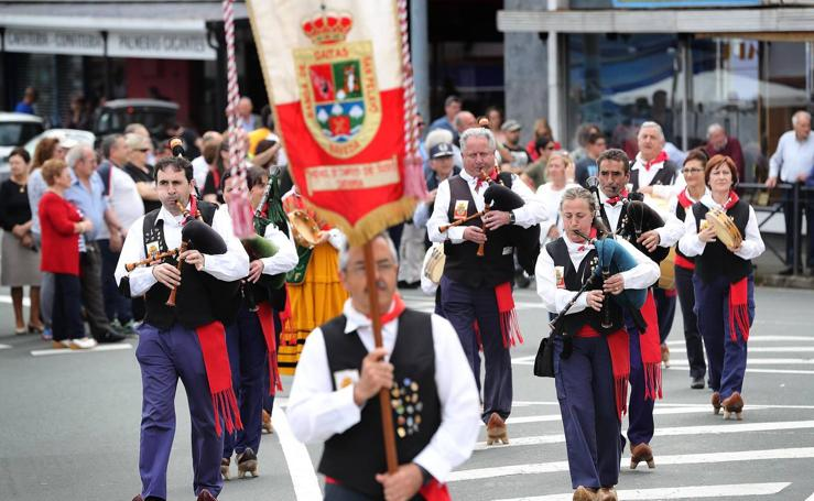 Unquera celebra la XVI Fiesta de la Gaita