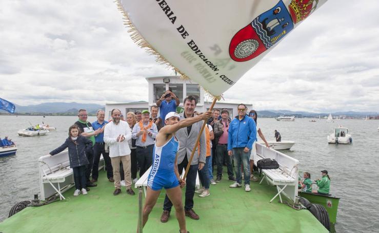 Astillero se impone en la Bandera Sotileza