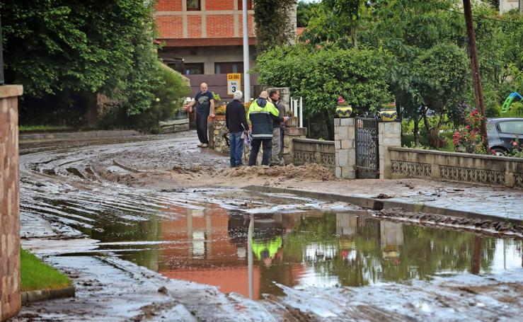 Inundaciones en Pechón
