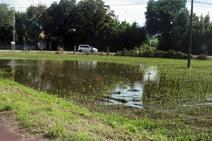 Efectos de las inundaciones en Loredo