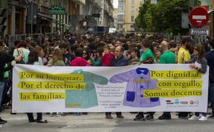 La huelga en Educación depende de la reunión de hoy entre Mañanes y la Junta de Personal