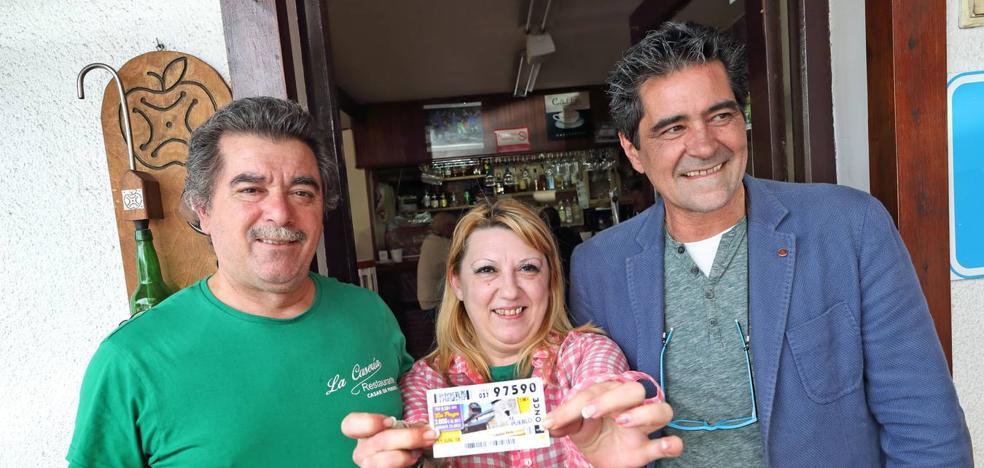 El cupón diario de la ONCE reparte 350.000 euros en Cabezón y San Vicente de la Barquera
