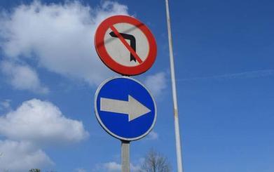 Las señales, un peligro al volante