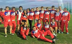 La selección cántabra juvenil se queda a dos puntos del 'top 12' del Nacional por federaciones