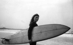 La segunda estrella del surf en Somo reconoce a Laura Revuelta
