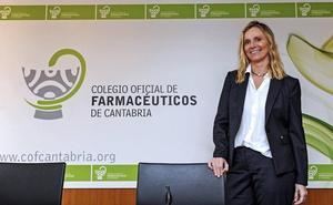 Rita de la Plaza toma el relevo del Colegio de Farmacéuticos