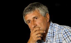 Quique Setién, candidato a dirigir la Roja tras el Mundial
