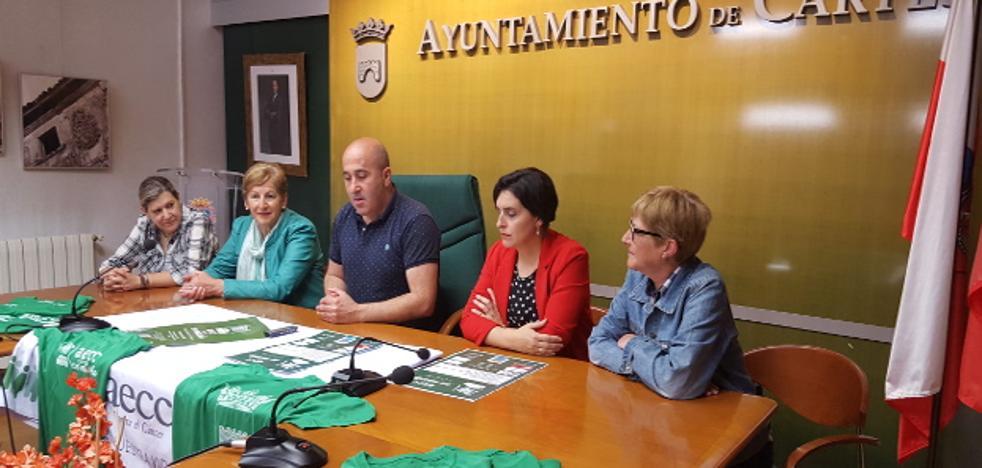 Cartes se suma a los municipios solidarios en la lucha contra el cáncer