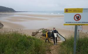 San Vicente dotará de un acceso provisional a la playa de Oyambre