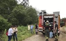 Un ataque de avispas desencadenó la caída del trabajador fallecido ayer en Liérganes