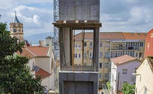 Un ascensor completa la ruta para el peatón hasta General Dávila