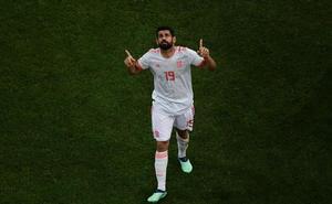 Diego Costa estrena el casillero de los nacionalizados