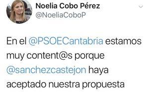 Un desliz de Noelia Cobo revela que fue el propio Zuloaga quien se postuló como delegado del Gobierno