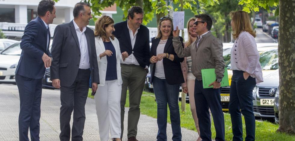 Los alcaldes del PP superan la crisis interna y se ofrecen a Buruaga para 2019