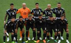 Argentina - Islandia, en imágenes