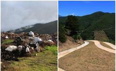 El Gobierno convierte en zona verde el vertedero de un monte próximo a Potes