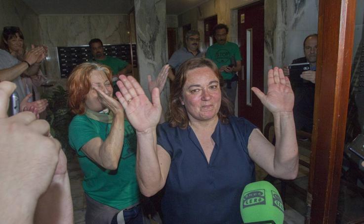 Paralizado el desahucio de un matrimonio y su hija en Santander