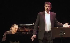 El barítono Manuel Lanza ofrece un recital este lunes en el auditorio del Centro Botín