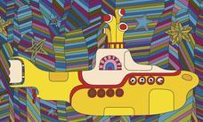 Santander celebra los 50 años del 'Yellow Submarine' de los Beatles