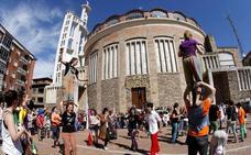 Torrelavega acoge este fin de semana un encuentro nacional de circo joven