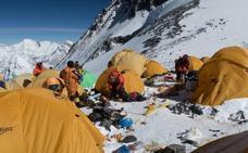 El Everest, un vertedero a gran altitud
