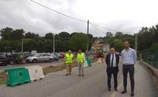 Las obras en la calle Gervasio Herrero mejorarán la seguridad vial de la zona