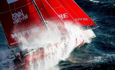El 'Mapfre' luchara por conseguir una histórica victoria en la Volvo Ocean Race