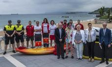 «Las playas de Santander no son peligrosas, los bañistas respetan el mar»