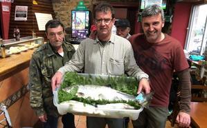 Ya se han capturado 63 salmones en las cuencas de Cantabria