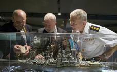 El Museo Marítimo inaugura una exposición de modelismo naval