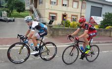 David Domínguez, primer líder de la Vuelta al Besaya tras ganar en Cabárceno