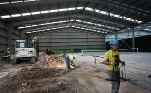Torrelavega dotará de nuevos vestuarios a las pistas de tenis de La Lechera