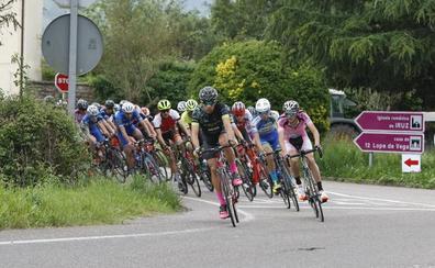 El granadino Carlos Rodríguez inicia su asalto al liderato de la Vuelta al Besaya