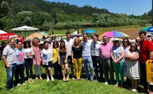 Zuloaga llama a la unidad del partido ante militantes de Cantabria y Asturias