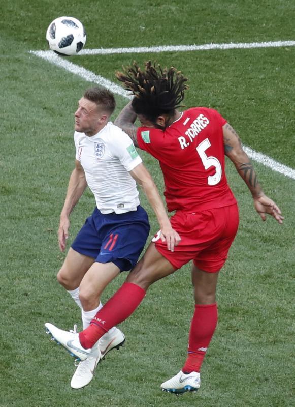El Inglaterra-Panamá, en imágenes
