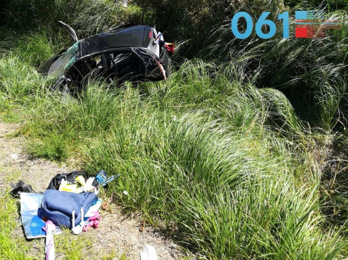 En pronóstico reservado una mujer tras un accidente en la A-67