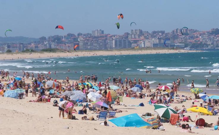 El verano se deja sentir en Cantabria