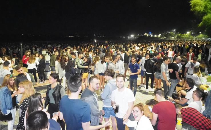 Así fue la noche de San Juan en Cantabria
